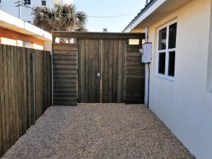 Beach Bungalow Deck and Shed Addition